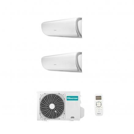 2amw42u4rra + qa25xx0ag+qa35xx0ag Climatizzatore Condizionatore Hisense Serie Worldwide Q Silentium Dualsplit Parete 12000 btu 2AMW42U4RRA + QA25XX0AG+QA35XX0AG Hisense Dualsplit Silentium