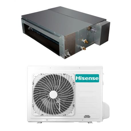 adt71ux4sll3 Climatizzatore Condizionatore Hisense Canalizzato Monosplit Canalizzato 24000 Btu ADT71UX4SLL3 Hisense Canalizzabile 24000