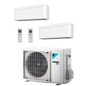 Climatizzatore/Condizionatore Dualsplit Daikin 2MXM40M+FTXA20AW+FTXA20AW