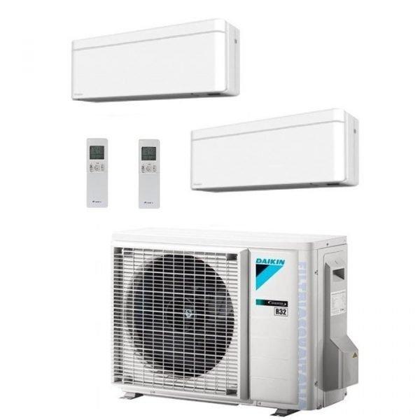 Climatizzatore/Condizionatore Dualsplit Daikin 2MXM40M+FTXA25AW+FTXA35AW