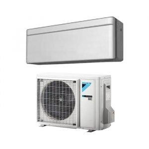 Climatizzatore/Condizionatore Daikin Modello Stylish Inverter 12000 Silver (Argento)