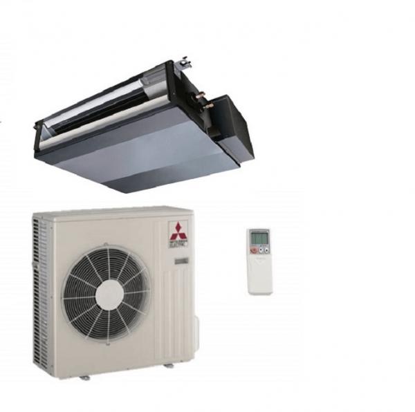 Climatizzatore/Condizionatore Mitsubishi Electric Monosplit Canalizzato Serie S 9000 Btu SEZ-KD25VAL 2