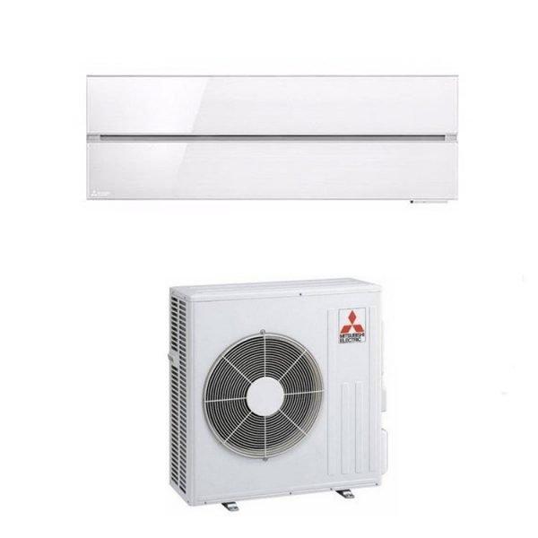 Climatizzatore/Condizionatore Mitsubishi Electric Monosplit Parete Kirigamine Style White 21000 Btu MSZ-LN60VGW 2