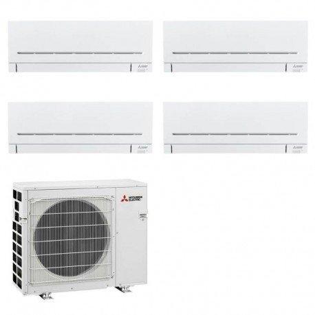 Climatizzatore/Condizionatore Mitsubishi Electric Quadrisplit Parete LINEA PLUS 7000 BTU MXZ-4F72VF + MSZ-AP20VF+MSZ-AP20VF+MSZ-AP20VF+MSZ-AP20VF 2
